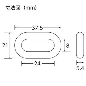 ユニット プラスチックチェーン 1.0m 871-241 黄/黒 ポリエチレン 軽量|ponta-ponta|02