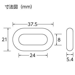 ユニット プラスチックチェーン 10.0m 871-246 黄/黒 ポリエチレン 軽量|ponta-ponta|02