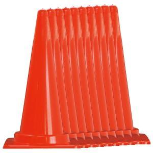 カラフルコーン10本セット 赤/青/緑/黄 H700mm 工事保安用品 カラーコーン|ponta-ponta|02