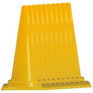 カラフルコーン10本セット 赤/青/緑/黄 H700mm 工事保安用品 カラーコーン|ponta-ponta|05