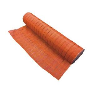 フェンスネット 1×50m オレンジ/グリーン ロール メッシュネット 仮設フェンス 防塵 防風 土木工事 工事現場 ponta-ponta