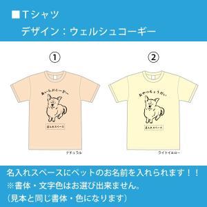 オリジナルTシャツ ペット・犬・ご当地(新潟名物) 名入れできます ◆送料無料  オソロでプレゼント|ponta-ponta|02