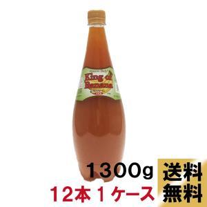 送料無料 バナナ ソース 1300g12本入り1ケース バナナミルク バナナジュース|ponte