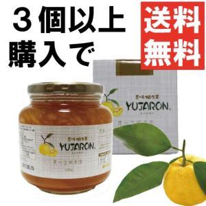 3個以上で送料無料 香味 柚子茶 ユジャロン1050g ゆず茶 1kg|ponte