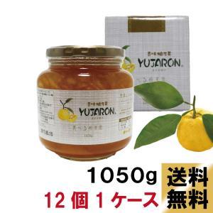 送料無料 香味 柚子茶 ユジャロン1050g12個入り1ケース ゆず茶|ponte