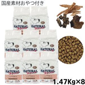 ナチュラルハーベスト シニアサポート(ハイシニア用食事療法食) 1.47kg×8袋セット/ペットフード/