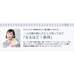 送料無料 Daisuki リュック型キャリーバッグ 猫用 Mサイズ|poohkuru|06