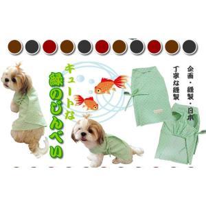 じんべいのパンツ 犬の甚平 国産・本格派 DM便で送料無料 |poohkuru