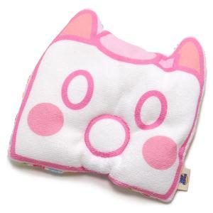 ベビーピロー 枕 ガーゼ キャラクター 授乳 新生児 赤ちゃん ピンク pop-collection