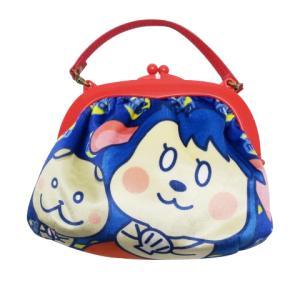 がま口ハンドバッグ がま口ショルダーバッグ キッズ用 子供用 カバン 手提げ おしゃれ キラキラ キャラクター 女の子 人魚のぽちまり pop-collection
