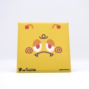 置物 かわいい 小さい スタンドクリップ付き スクエア 四角 黄色 キャラクター キイビヨ|pop-collection