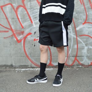 NEON SIGN(ネオンサイン) / INSIDE-OUT TRACK SHORTS (BLACK)|pop5151