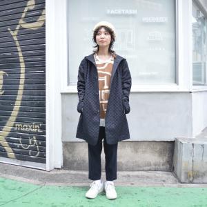 ohta(オータ) / black embroidery coat|pop5151