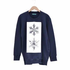 ohta(オータ) / navy kessyou sweat|pop5151