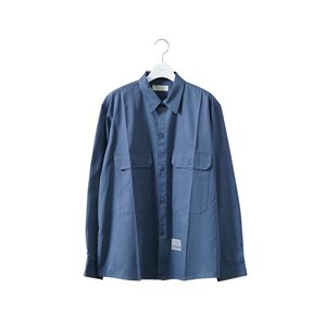 """NEON SIGN(ネオンサイン) / WORKERS SHIRT """"L/S""""(BLUE)