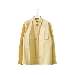 "NEON SIGN(ネオンサイン) / WORKERS SHIRT ""L/S""(YELLOW)