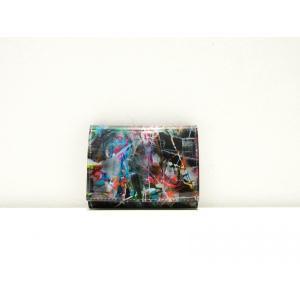 macromauro(マクロマウロ) / black paint coin case pop5151