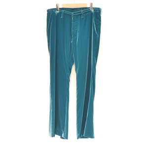 FACETASM(ファセッタズム) / VELVET PANTS (BLUE)|pop5151