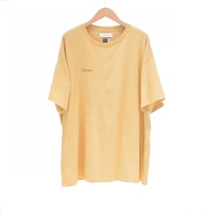 FACETASM(ファセッタズム) / FACETASM EMBROIDERY BIG TEE (BEIGE)|pop5151