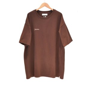 FACETASM(ファセッタズム) / FACETASM EMBROIDERY BIG TEE (BROWN)|pop5151