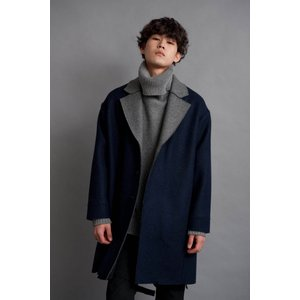 DISCOVERED(ディスカバード) / DOUBLE FACE COAT (NAVY)|pop5151