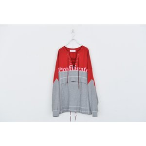 DISCOVERED(ディスカバード) / Remake pullover (RED)|pop5151