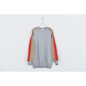 DISCOVERED(ディスカバード) / Boa sleeve sweat (GRAY×BEIGE)|pop5151