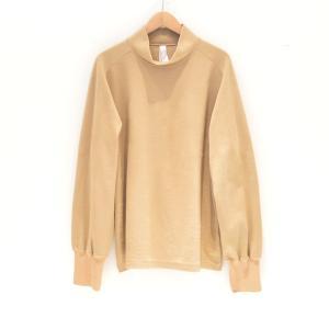 Edwina Horl(エドウィナホール) / MOCK NECK PULLOVER (beige)|pop5151