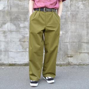 Edwina Horl(エドウィナホール) / 2TUCK WIDE PANTS|pop5151