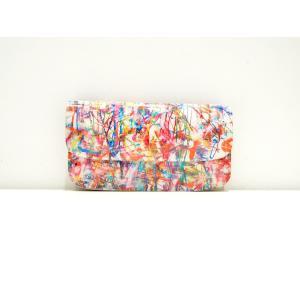 macromauro(マクロマウロ) / high paint wallet jabara (長財布) pop5151