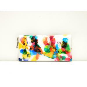 macromauro(マクロマウロ) / high paint wallet M (長財布) pop5151
