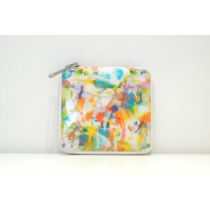 macromauro(マクロマウロ) / high paint wallet (2つ折り財布)|pop5151