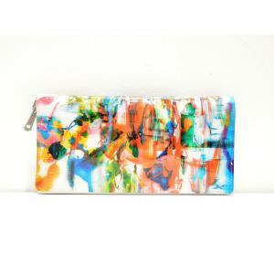 macromauro(マクロマウロ) / high paint wallet jumbo (長財布)|pop5151