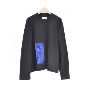 JieDa(ジエダ) / LAMINATE POCKET L/S T SHIRT (BLACK)|pop5151