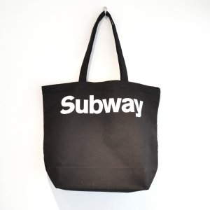 Anoraks / Life is Journey Tote -Subway-|pop5151