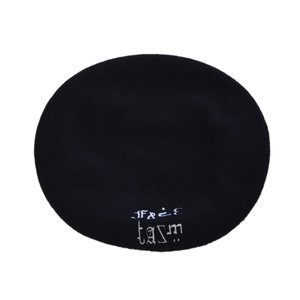 FACETASM(ファセッタズム) / FACETASM BERET(BLACK)|pop5151