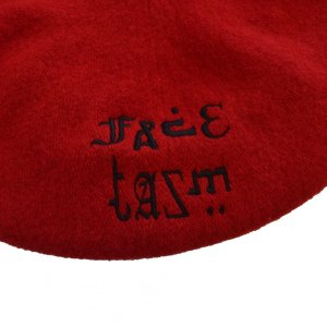 FACETASM(ファセッタズム) / FACETASM BERET(RED)|pop5151