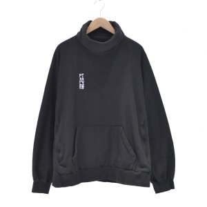 FACETASM(ファセッタズム) / HIGH NECK SWEAT SHIRT(BLACK)|pop5151