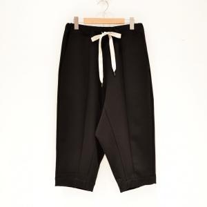 Prasthana(プラスターナ) / semidress trousers (BLACK)|pop5151