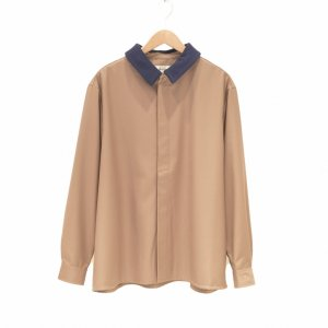Prasthana(プラスターナ) / undress shirt (BEIGE)|pop5151
