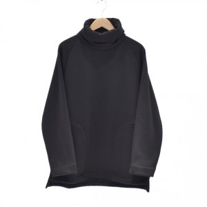 Prasthana(プラスターナ) / mouton jersey turtle neck(BLACK)|pop5151