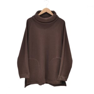 Prasthana(プラスターナ) / mouton jersey turtle neck(BROWN)|pop5151