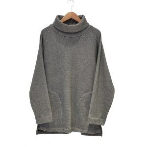 Prasthana(プラスターナ) / mouton jersey turtle neck(GRAY)|pop5151