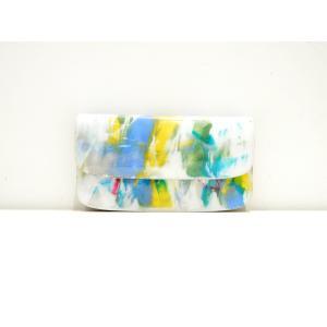 macromauro(マクロマウロ) / paint wallet jabara (長財布) pop5151