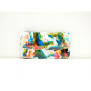 macromauro(マクロマウロ) / paint wallet jabara (長財布)|pop5151