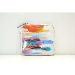 macromauro(マクロマウロ) / paint wallet (2つ折り財布)|pop5151
