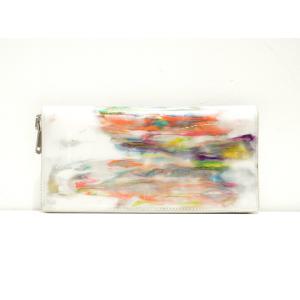 macromauro(マクロマウロ) / paint wallet jumbo (長財布)|pop5151