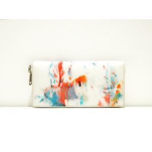 macromauro(マクロマウロ) / paint wallet M (長財布) pop5151
