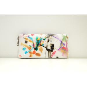 macromauro(マクロマウロ) / high paint wallet M (長財布)|pop5151