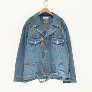 FACETASM(ファセッタズム) / BIG DENIM RADING JACKET(INDIGO)|pop5151